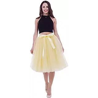 Precio reducido genuino mejor calificado mejor selección de 2019 🥇 Faldas de Tul Amarillas · Mejores Ofertas Online 【2019】